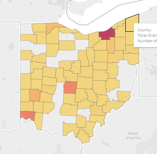 2018 Grants in Ohio