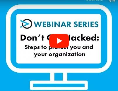 Don't get hacked webinar
